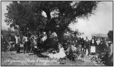festa campestre arzana di nissin